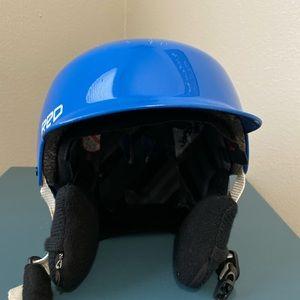 Burton Red Kids Snowboard Helmet